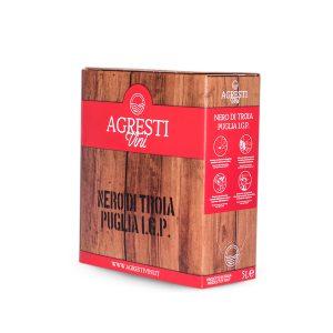 Vino Nero di Troia Puglia IGP 5 Litri