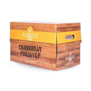 Vino chardonnay Puglia IGP 20 Litri foto due