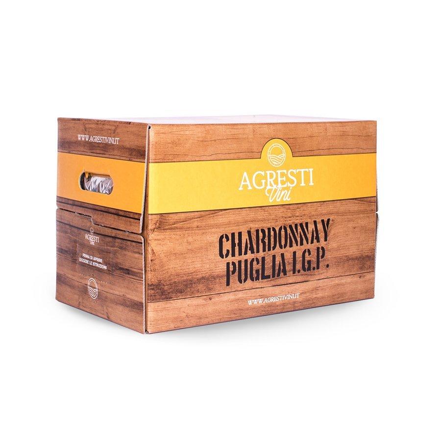 Vino chardonnay Puglia IGP 20 Litri