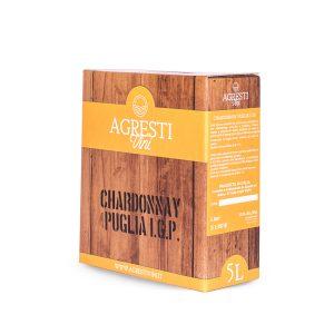 Vino Chardonnay Puglia IGP 5 Litri