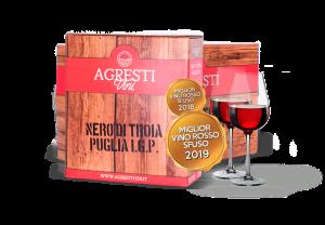 Bag in Box Agresti Vini Premiato Miglior vino sfuso anno 2018 - 2019