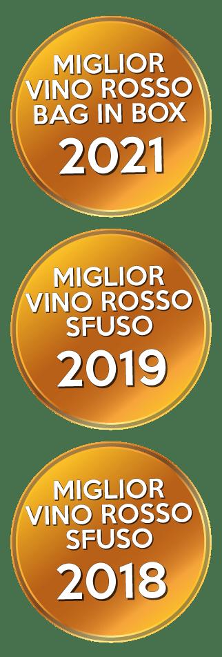 Miglior Vino Sfuso 2018, Miglior Vino Sfuso 2018, Miglior Bag in Box 2021